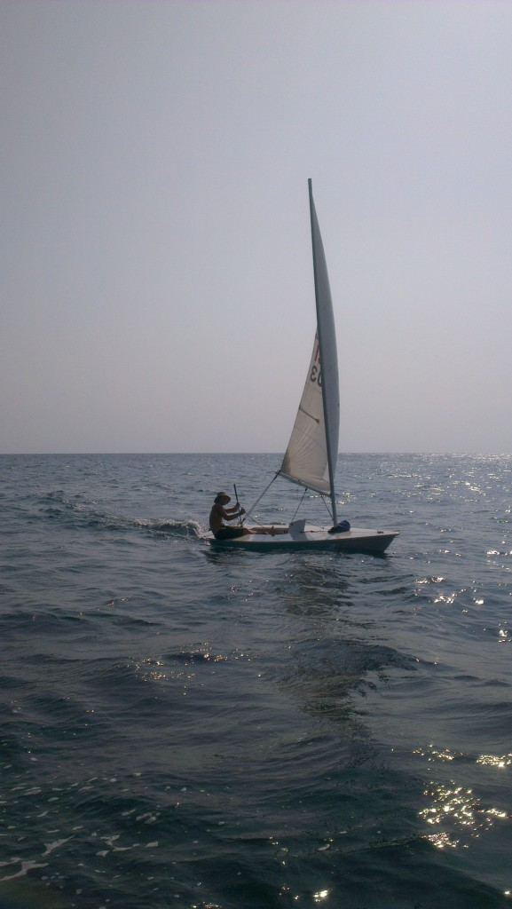 afternoon-laser-sailing-koh-tao