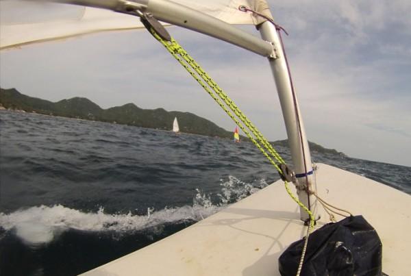 Sailing Course South Sairee Beach