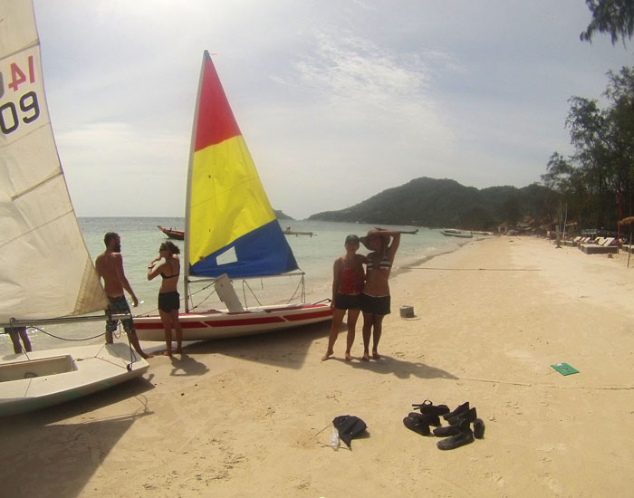 Discover Dinghy Sailing Course Koh Tao