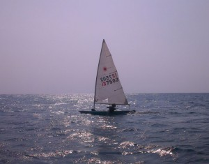 Saiking Koh Tao, Solo Laser Sailing