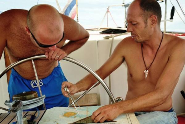 Plotting Course - Ocean Hiker Competent Crew Sailing Course